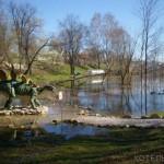 В Котельниче затопило Динопарк