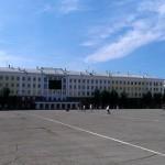 В Кирове на Театральной площади установят три надувные буквы