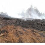 Росприроднадзор занялся горящей свалкой в Кирово-Чепецке