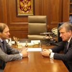 Игорь Васильев обсудил с Денисом Мантуровым развитие промышленности в Кировской области