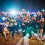200 кировчан пробежали ночью с фонариками 10 километров