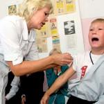 В выходные дни детей можно будет привить против гриппа