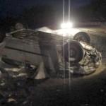 Водитель «Опеля» погиб, опрокинувшись на трассе Котельнич – Даровской