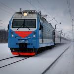 В области поезд столкнулся с большегрузом на переезде
