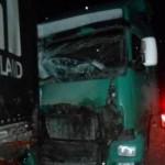 Водителя фуры, насмерть задавившего полицейского, посадили на 2 года