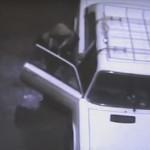 Устанавливаются личности подозреваемых в угоне автомашины (ВИДЕО)