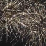Праздничный фейерверк прогремел у парка имени Кирова (ВИДЕО)