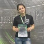 Десятиклассница из Котельнича стала чемпионкой Европы по пауэрлифтингу