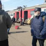На вокзале эвакуировали пассажиров электрички «Киров — Ежиха»