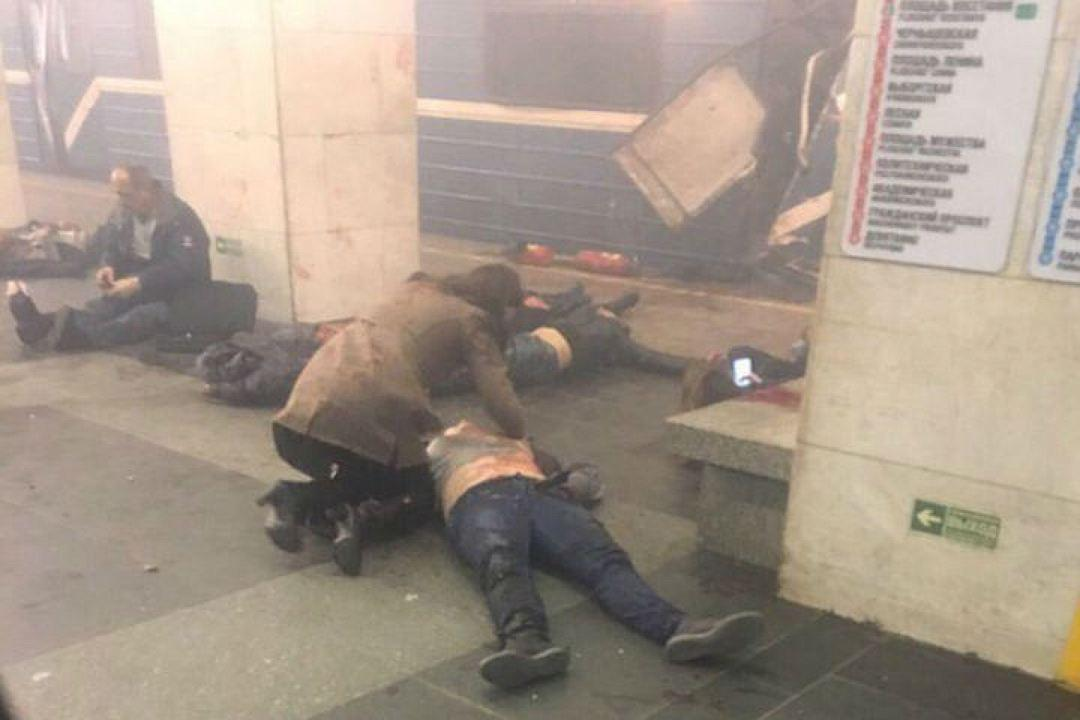взрыв метро