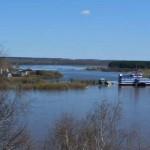 За сутки вода в Вятке поднялась на 23 см: уровень воды – 393 см