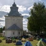 Из-за приезда Патриарха Кирилла паломникам запретили ставить палатки
