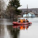 Уровень воды в Вятке поднялся еще на 7 см