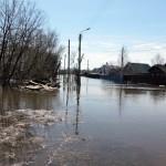 Уровень воды в Вятке достиг отметки +412 см от нулевого поста