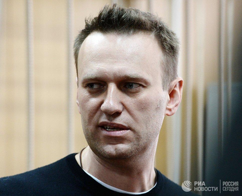 полиция задержала навального
