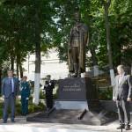 В Кирове открыли памятник Дзержинскому