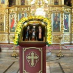 Икона с частицами мощей трёх святых прибыла в Киров