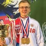 Кировский спортсмен стал двукратным чемпионом мира по гиревому спорту