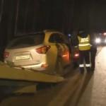 Появились кадры задержания двух пьяных следователей областного УМВД