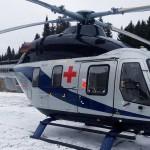 На территории Омутнинской ЦРБ появилась вертолетная площадка