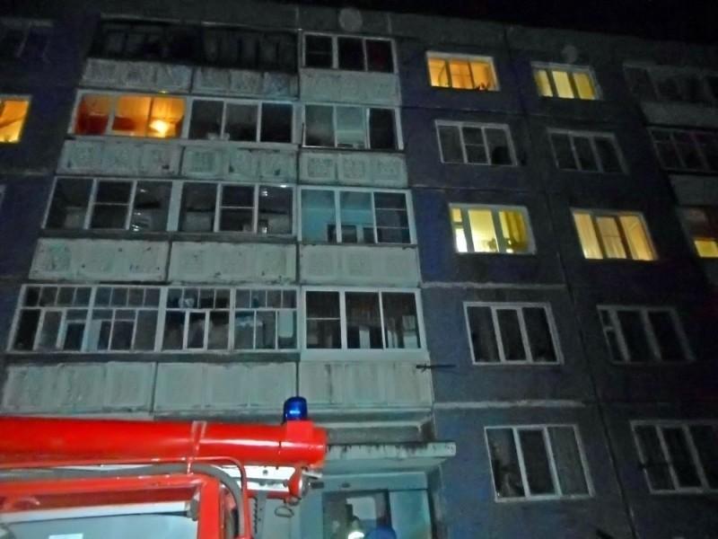 пожар омутнинск