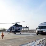 В Кирове открыли третью вертолетную площадку