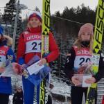 Юная кировчанка выиграла европейские соревнования по прыжкам на лыжах с трамплина