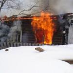 В Кикнурском и Омутнинском районах произошли пожары, в которых погибли мужчина и женщина