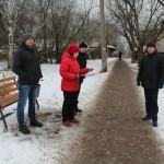 Администрация проверила содержание тротуаров в Слободском