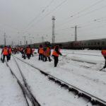 Из-за сильных снегопадов на железной дороге Кировской области введена система «Буран»