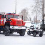Кирсинские пожарные получили новую технику и оборудование