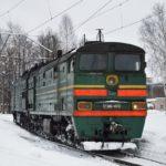 Ночью в Кирове с рельсов сошла часть товарного поезда