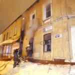 В Кирове сотрудники МЧС спасли женщину из горящего дома