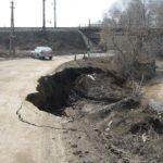 В Вятских Полянах завершены работы по укреплению берега реки Тойменки