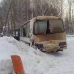 На трассе «Вятка» фура въехала в автобус: пять пассажиров ПАЗика получили травмы
