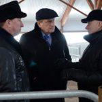 Губернатор посетил строящийся сельхозкомплекс в Оричевском районе