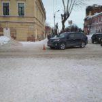 В Слободском водитель иномарки сбил 80-летнюю пенсионерку