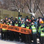 Сотрудники Госавтоинспекции организовали для кировчан смотр-выставку автотранспорта спецслужб