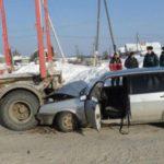 В Даровском районе 19-летний водитель «девятки» врезался в стоящий МАЗ