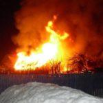 В Арбажском районе при пожаре в двухквартирном доме погиб мужчина