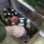 Кировские полицейские пресекли незаконную продажу спиртного: из магазина изъято более 100 литров алкоголя