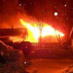 В Верхнекамском районе сгорел жилой дом: пожарные прибыли поздно из-за проблем со связью