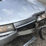 В Слободском столкнулись три легковых автомобиля
