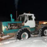 В Советском районе снегоуборочный трактор задавил пенсионерку