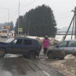В Слободском районе столкнулись «Nissan» и «Chevrolet Niva»
