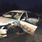 В Пижанском районе столкнулись две иномарки: два человека госпитализированы