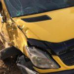 В Слободском районе столкнулись рейсовый автобус и Mercedes-Benz Sprinter