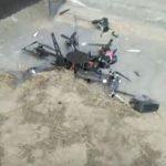 Первый беспилотник «Почты России» сразу после взлета врезался в дом