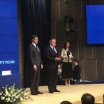 Главе МРСК Центра – управляющей организации МРСК Центра и Приволжья Олегу Исаеву вручена медаль