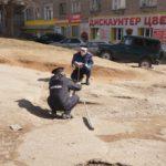 Кировские автоинспекторы обследуют дороги вместе с представителями администрации